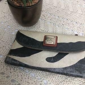 Dooney & Bourke Zebra Striped Wallet